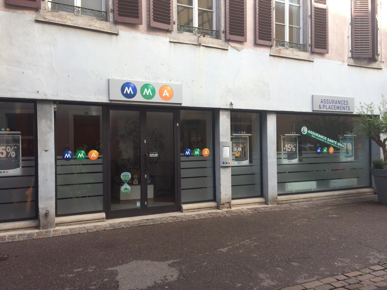 LOT DE 4 LOCAUX COMMERCIAUX 355 m² - COLMAR